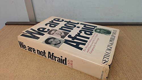9780025202603: We Are Not Afraid: The Story of Goodman, Schwerner, and Chaney and the Civil Rights Campaign for Mississippi
