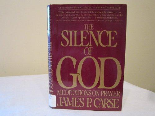 9780025214903: The SILENCE OF GOD