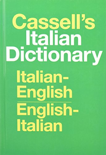 9780025225404: Cassell's Standard Italian Dictionary, Thumb-indexed