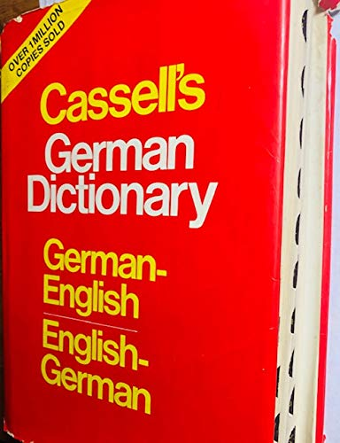 Cassell's German dictionary: German-English, English-German : based on the editions by Karl Breul (002522560X) by Harold T Betteridge