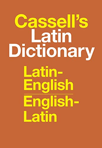 9780025225800: Cassell's Latin Dictionary: Latin-English, English-Latin