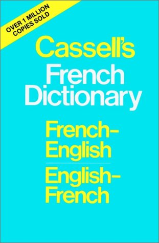 Cassell's French Dictionary: French-English English-French 9780025226104 A hundred years of experience in dictionary publishing lies behind this edition of the famous Cassell's French Dictionary. After more than thirty impressions of the previous edition this entirely new dictionary has been compiled by a team of eminent linguists. Reviewing the new dictionary The Times Educational Supplement said:  One handles this dictionary with the same pleasure that a craftsman feels when he finds that a tool, dulled and blunted by long use and passage of time, has come back sharpened and polished, refurbished and fit once more for long years of useful service. Everyone has his testing-points for a dictionary and the present reviewer, after submitting this one to the ordeal, awarded it a tentative full marks. Its minor defects pale into insignificance before the scholarly achievement of a work for which the publishers can rightly claim that it is 'the most authoritative, up-to-date and, within the limits of size, the most comprehensive French dictionary available.'