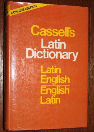 9780025226302: Cassells Concise Latin English, English Latin Dict Ionary