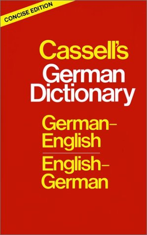 9780025226500: Cassell's German Dictionary: German-English English-German