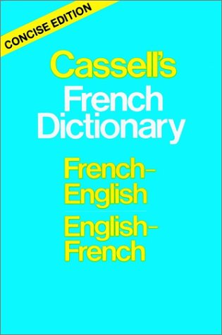 9780025226708: Cassell's French-English, English-French Dictionary