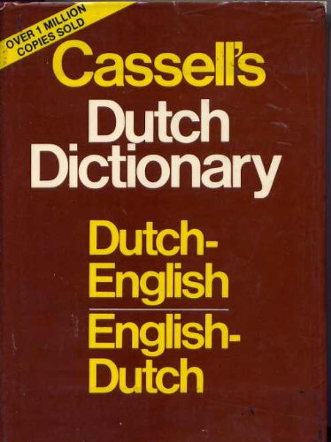 9780025228900: Cassell's English-Dutch Dutch-English Dictionary