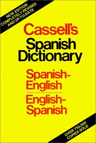 9780025229105: Cassell's Spanish-English, English-Spanish Standard Dictionary, Thumb Indexed