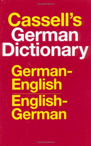 Cassell's Standard German Dictionary (0025229303) by Harold T Betteridge