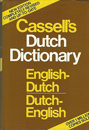 9780025229402: Cassell's English-Dutch Dutch-English Dictionary