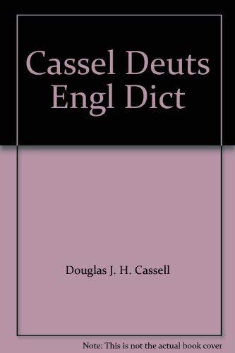 9780025229501: Cassel Deuts Engl Dict