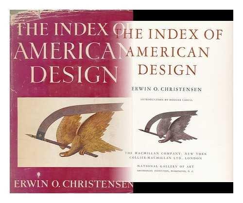9780025252400: Index of American Design