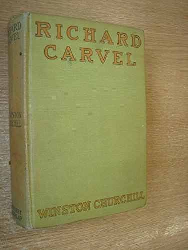 9780025256606: Richard Carvel