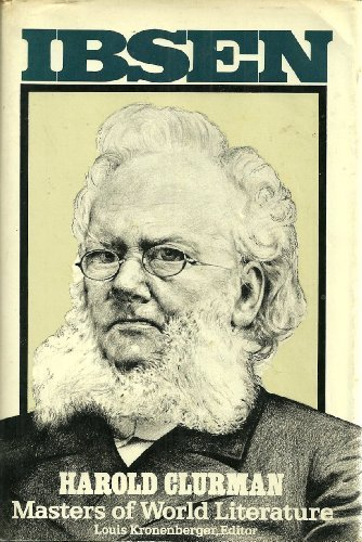 9780025264205: Ibsen (Masters of World Literature Series)