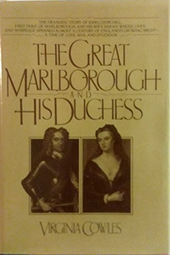 9780025285804: The GREAT MARLBOROUGH AND HIS DUCHESS
