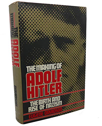 9780025297005: The Making of Adolf Hitler