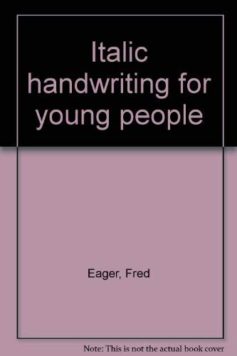 9780025345706: Italic Handwriting for Young People