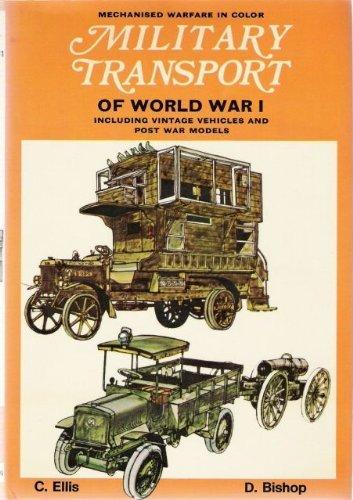 9780025352407: Military Transport of World War I, Including Vintage Vehicles and Post War Models.