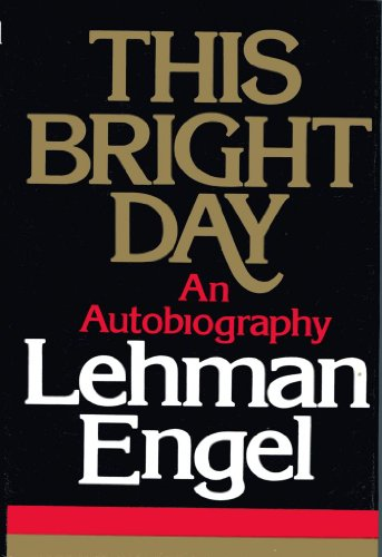 9780025361102: This Bright Day: An Autobiography