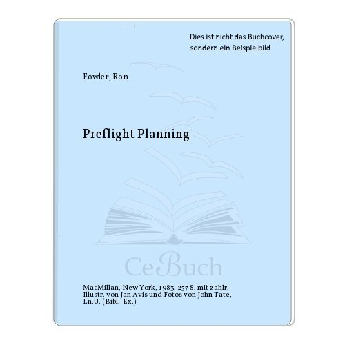 9780025403000: Preflight Planning