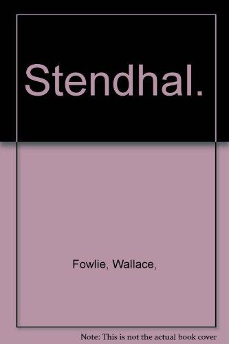 Stendhal: Wallace Fowlie