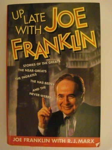 9780025407756: Up Late with Joe Franklin