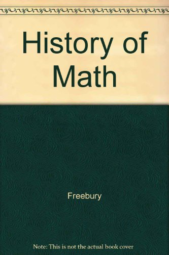 9780025411609: History of Math