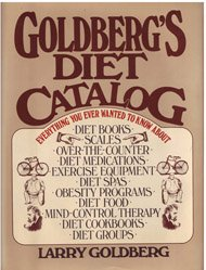 9780025444805: Goldberg's Diet Catalog