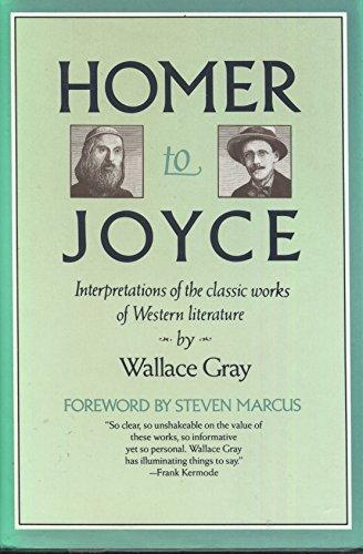 9780025451704: Homer to Joyce