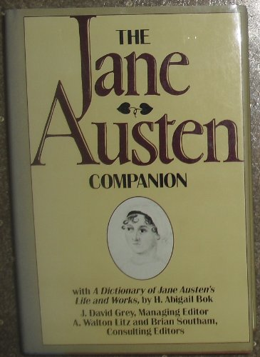 9780025455405: The Jane Austen Companion: With a Dictionary of Jane Austen's Life and Works by H. Abigail Bok
