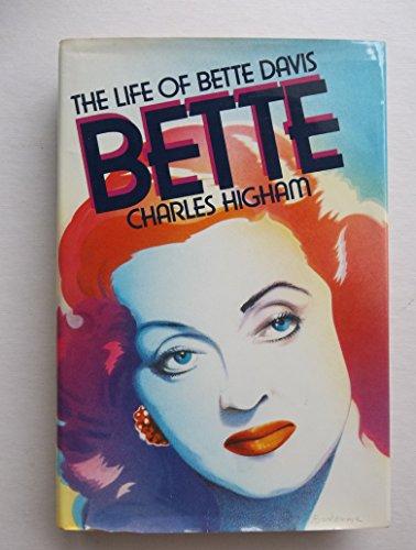 9780025515000: Bette: The Life of Bette Davis