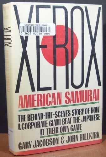 9780025516007: XEROX AMERICAN SAMURAI