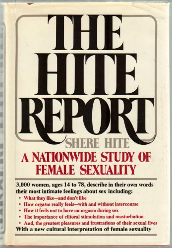 9780025518513: The Hite Report : A Nationwide Study of Female Sexuality