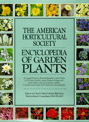 9780025579200: American Horticultural Society Encyclopedia of Gar Den Plants