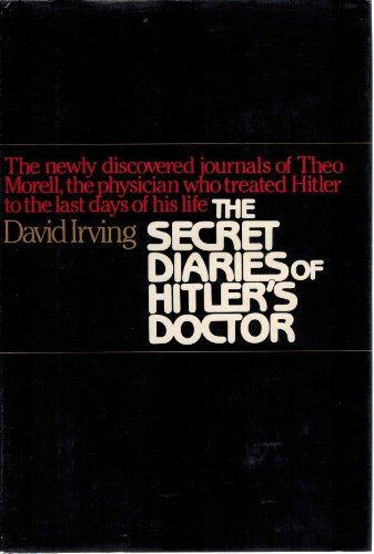 9780025582507: Secret Diaries of Hitler's Doctor