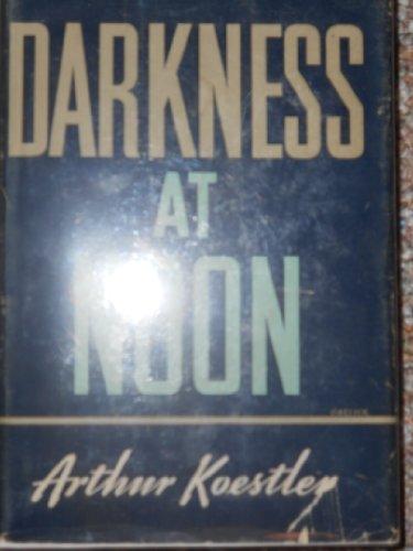 9780025652002: DARKNESS AT NOON