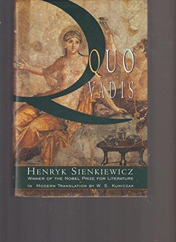 Quo Vadis: Henryk Sienkiewicz
