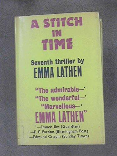 9780025688605: A Stitch in Time