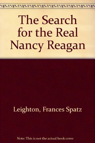 9780025702103: The Search for the Real Nancy Reagan