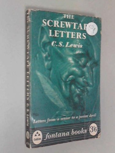 Screwtape Letters (9780025712409) by C.S. Lewis