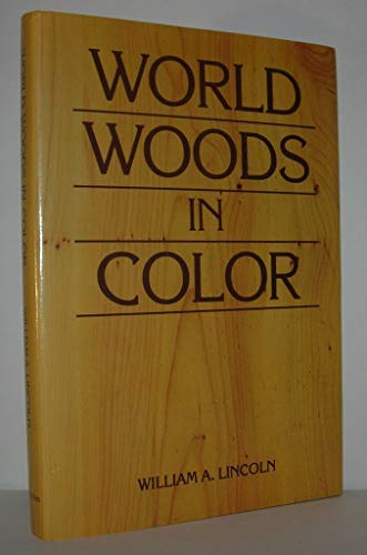 9780025723504: World Woods in Color