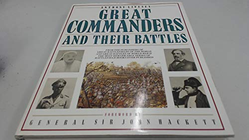 9780025734104: Great commanders and their battles