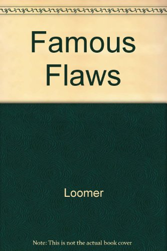 9780025751002: Famous Flaws