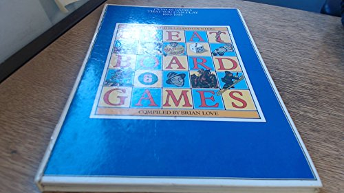 9780025755703: Great Board Games: Over 40 Games That You Can Play, 1895-1955