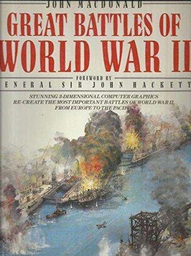9780025773509: Great Battles of World War II