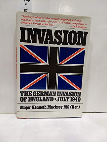 9780025780309: Invasion : The German Invasion of England - July 1940