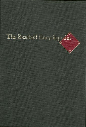 9780025790100: THE BASEBALL ENCYCLOPEDIA: The Complete and Official Record of Major League Baseball, Fifth Edition / Revised and Expanded