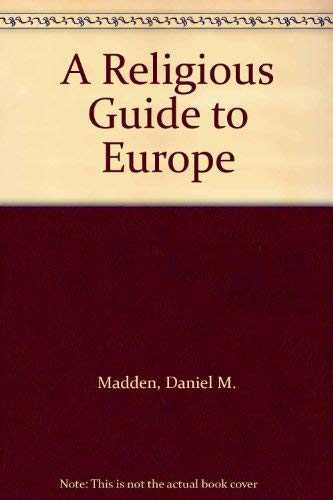 9780025791503: A Religious Guide to Europe