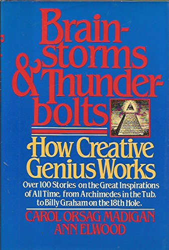 9780025791602: Brainstorms and Thunderbolts  How Creative Genius Works
