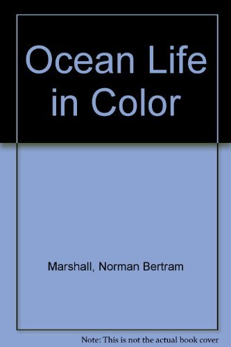 9780025801806: Ocean Life in Color