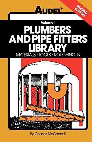 9780025829114: Plumbers and Pipe Fitter's Library: Materials Tools Roughing in: 001